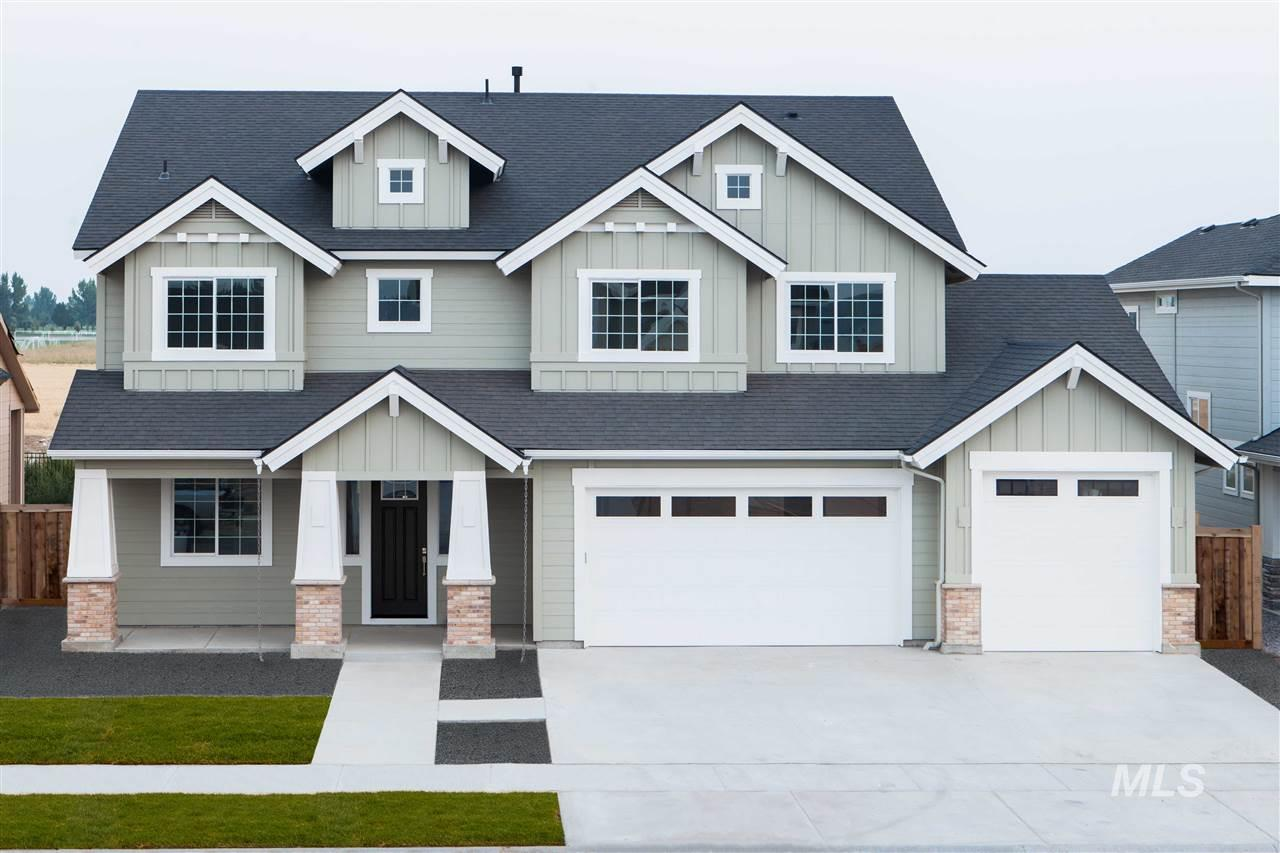 The Hudson built by Alturas Homes will be ready for a family mid-November of 2019!  Home features upper master bedroom and bonus room with vaulted ceilings. Main level office has barn door into large and bright entry. 3 car extended garage with mower shed totals 1086 square feet of storage for your toys! Large kitchen has an appliance garage, tech area and an island that is wide open due to the kitchen sink positioned under window facing backyard. Contact Alturas Homes to walk through other completed model.