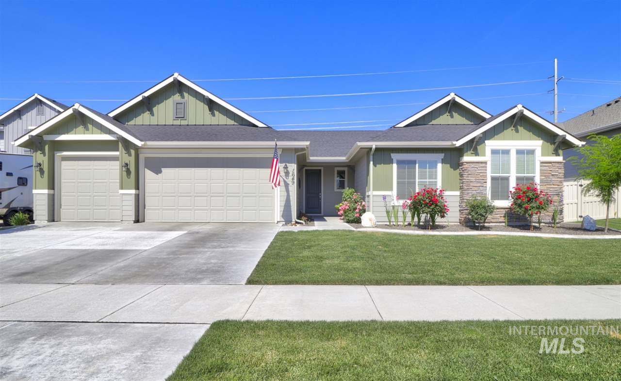 Immaculate Single Level now Available in West Highlands Ranch! Home is in pristine condition inside and out. Includes shed, refrigerator, microwave and no direct back neighbors at this time. Community offers POOL, work out center, large common areas, park and a grade school located within. Sellers have upgraded the back yard with a HUGE 11x52 patio and PERGOLA entertaining area. Master bedroom offers 3 walk in closets. Granite throughout on all surfaces! Large kitchen with soft close cabinets are a Bonus!