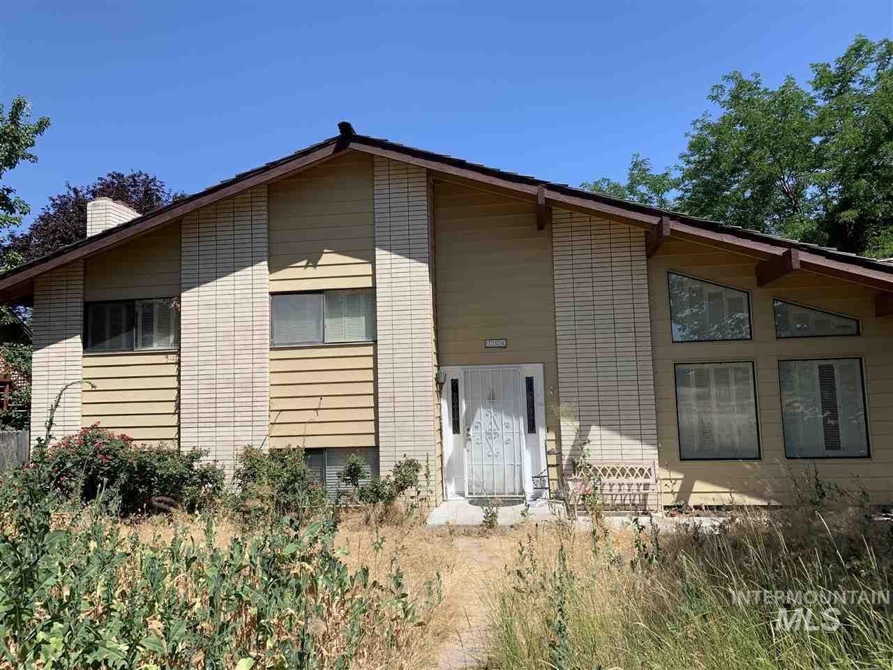 Great investment home. 4 bed, 3 bath, vaulted ceilings. Great space for entertainment! Yard has lots of potential and offers RV parking. Wood burning fireplace and 2 storage sheds. Lots of storage throughout the house. Potential is endless to make it your own!