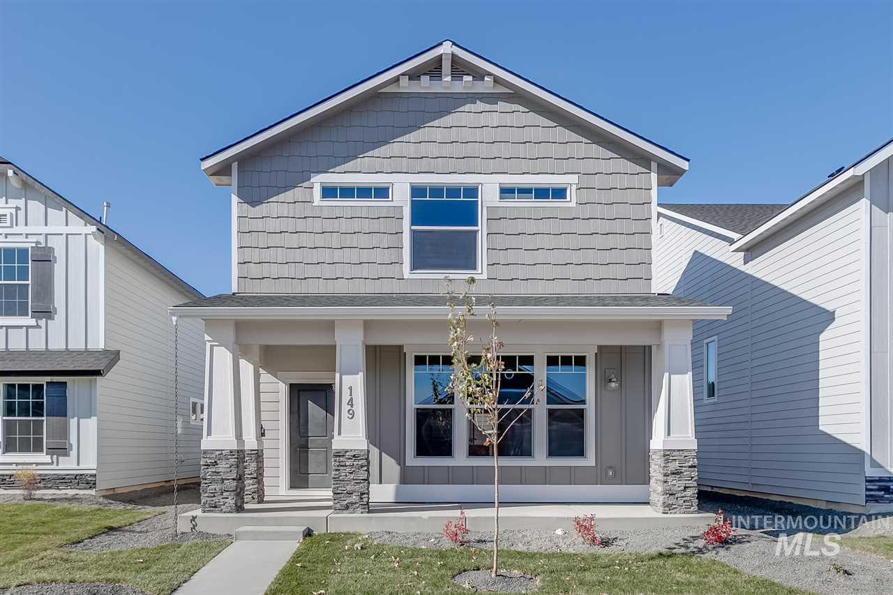 In the Carlton 1676, enjoy a nice sized kitchen with island on the main level along with a large family room! Price includes upgraded cabinets, dual vanity, granite kitchen counter tops, engineered vinyl plank flooring, full landscaping, and more! Photos Similar.  RCE-923