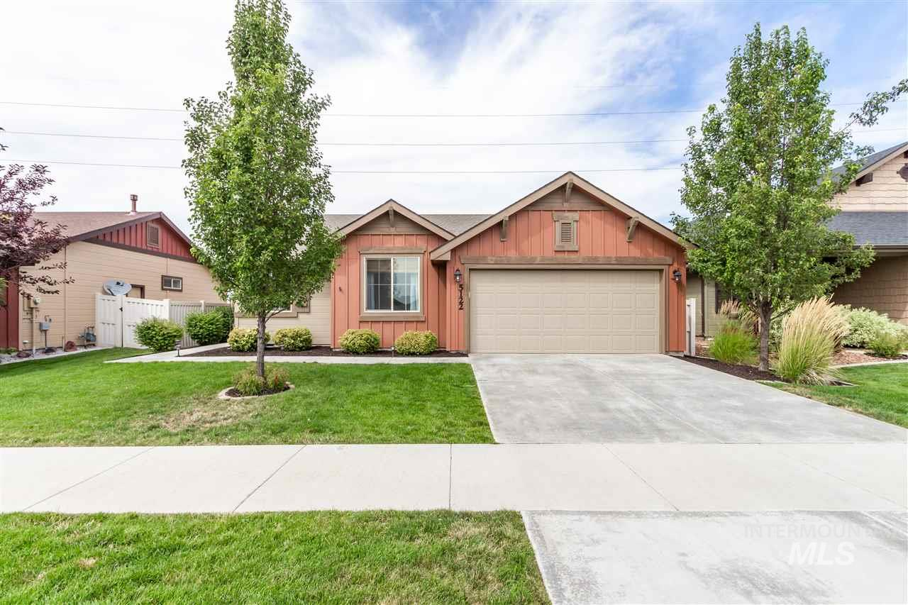 This wonderful 1 owner home is a diamond. Very well taken care of. Open great room design has a large vault that really opens this home. Vault is also in master bed. Lots of light in the upgraded window package. The garage is extended to 25'. Large covered rear patio with full vinyl privacy fence. Very nice landscaping. The laundry room is separated out with cabinets in it, so you do not have to walk through the laundry room from the garage, but rather into a nice open area. This home has had great care