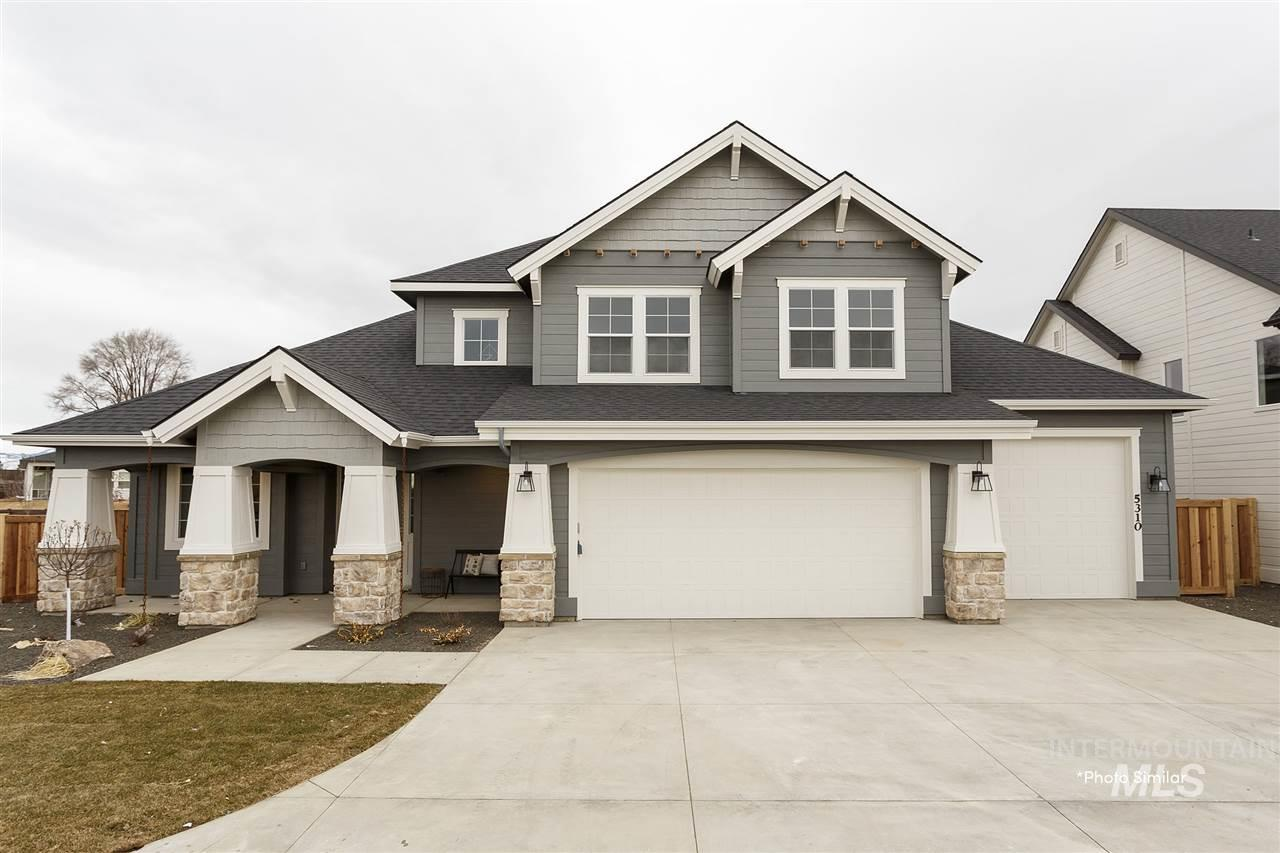 The Alder built by Alturas Homes is a two story, 4 bedroom, 3.5 bath home with a dedicated office.  The fourth bedroom has a private en-suite.    This home is being built on an east facing lot in phase 11 of Century Farm.