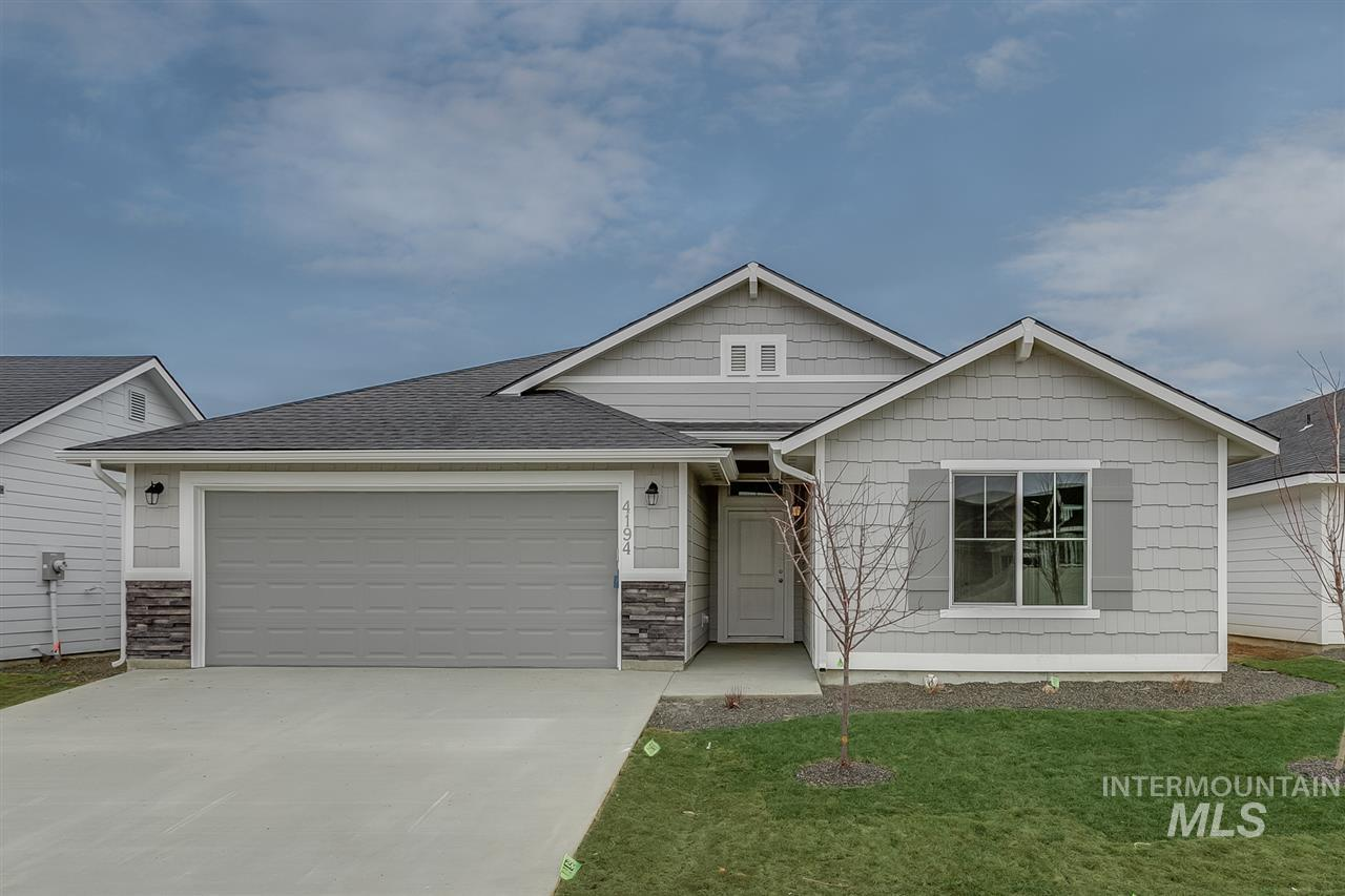 4194 S Sarteano Ave, Meridian, Idaho 83642, 4 Bedrooms, 2 Bathrooms, Residential For Sale, Price $328,955, 98743926