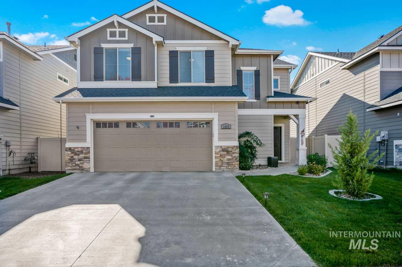 1683 W Woodington St, Meridian, Idaho 83642, 4 Bedrooms, 2.5 Bathrooms, Residential For Sale, Price $349,900, 98747057