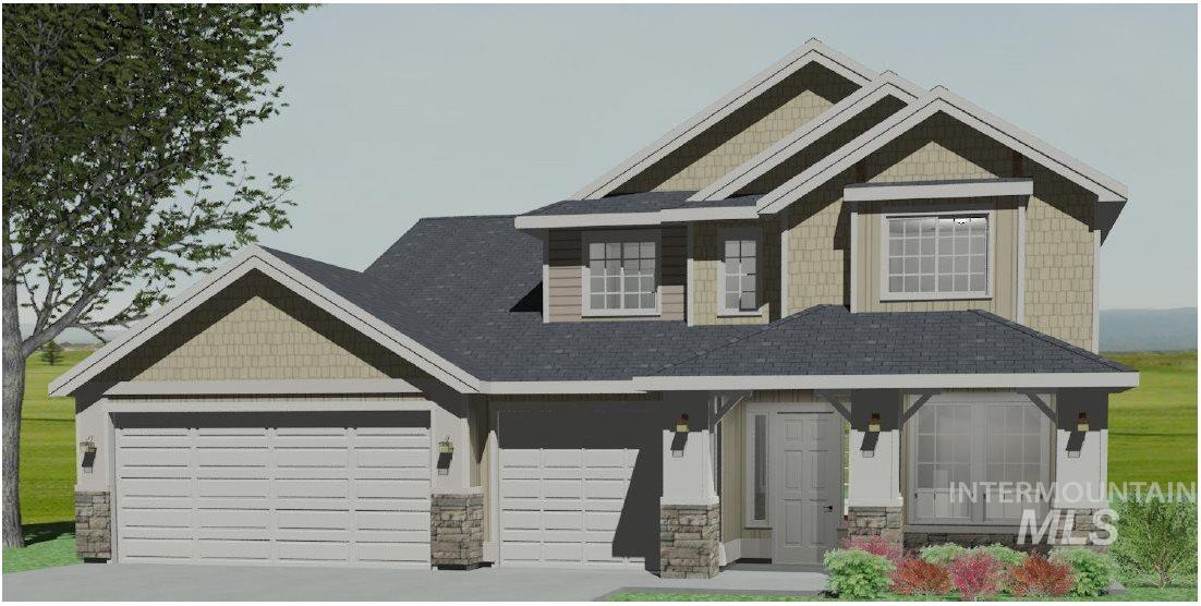 """The Sawtooth"" by Biltmore Co. has room for everyone- 4 spacious Bedrooms including a tranquil main level master suite, bonus room, office, open great room, gourmet kitchen & large dining area. Storage galore w/ spacious 3 car garage, huge corner pantry, & bedrooms are complete with walk in closets."