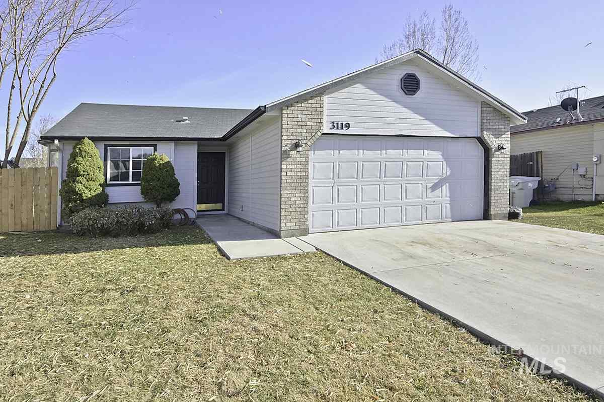 3119 Bristol Ave, Caldwell, Idaho 83605, 3 Bedrooms, Residential For Sale, Price $219,895, 98750890