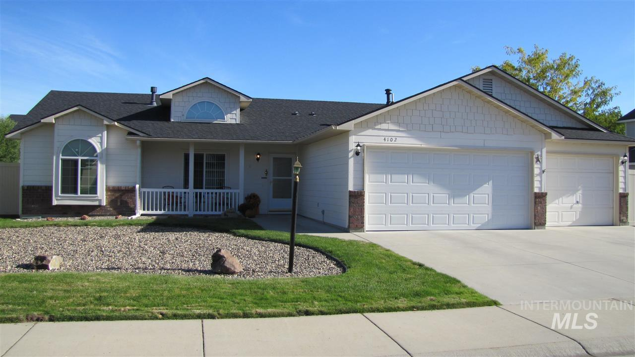 4102 W Angelica, Meridian, Idaho 83646, 4 Bedrooms, 2 Bathrooms, Residential For Sale, Price $299,900, 98751002