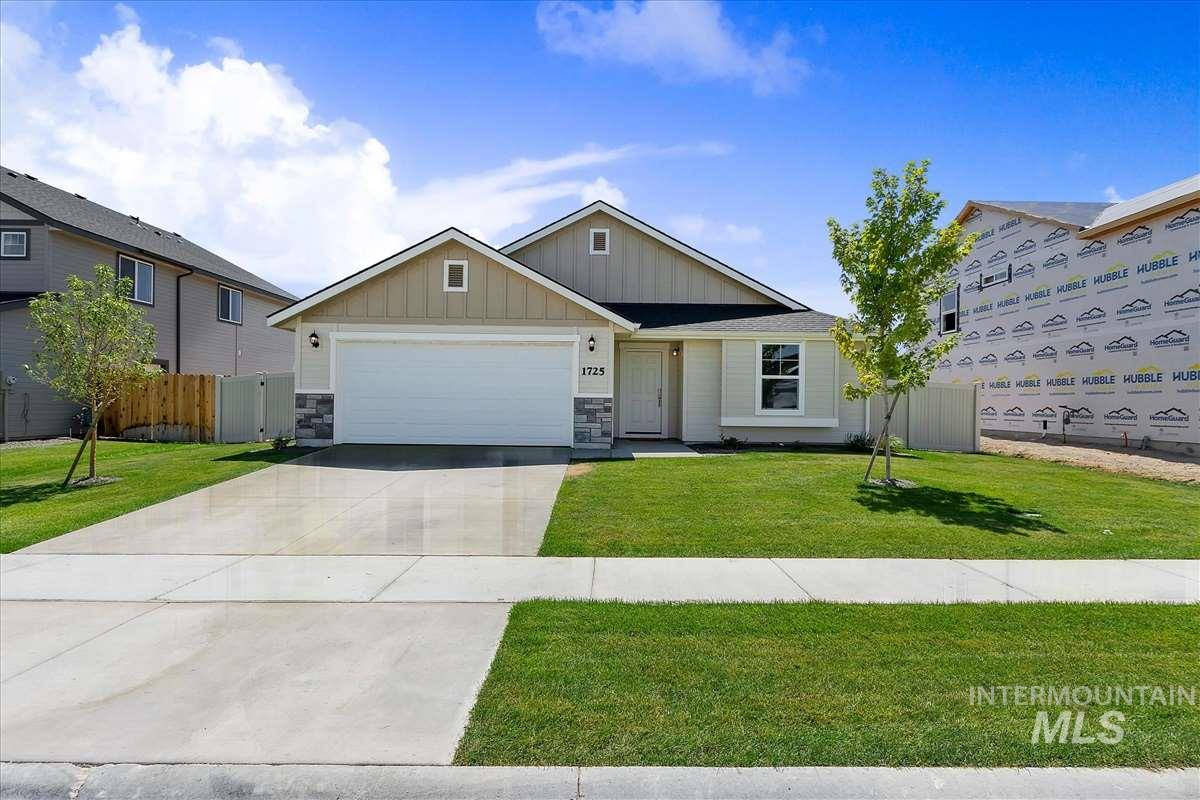 11087 W FAITH ST, Nampa, Idaho 83651, 3 Bedrooms, 2 Bathrooms, Residential For Sale, Price $262,990, 98752384