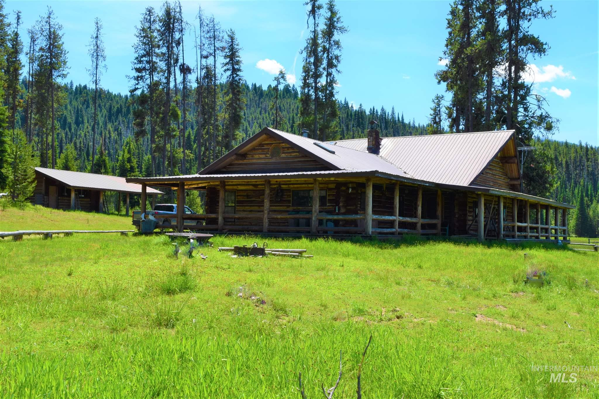 3746 Upper Red River Road Sable Trail Ranch, Elk City, ID 83525