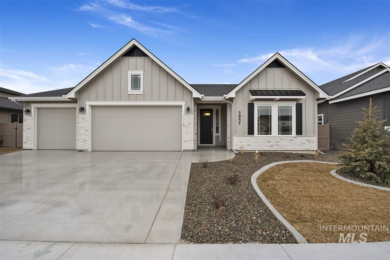 Another fine custom built home by KW Homes. This gorgeous home is open and bright, features a gourmet kitchen with spacious walk-in pantry. KW Homes installs beautiful real hardwood. Don't miss the private master retreat. Second bedroom great for an office or multi-generational living. Located on a low traffic cul de sac and is fully fenced with covered patio for outdoor living. Don't miss this spectacular home!