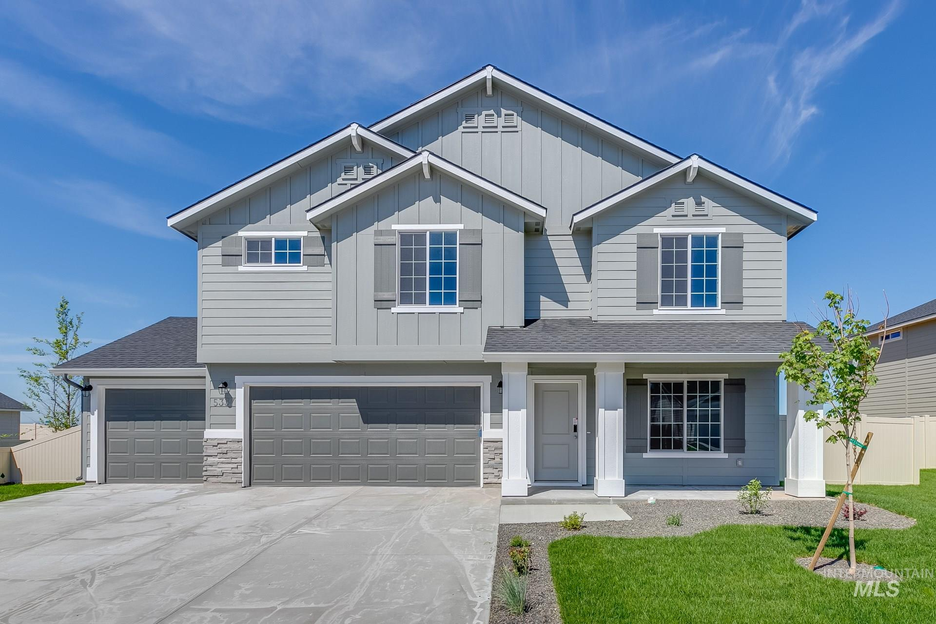 5337 N Willowside Ave, Meridian, Idaho 83646, 4 Bedrooms, 2.5 Bathrooms, Residential For Sale, Price $386,054, 98755054