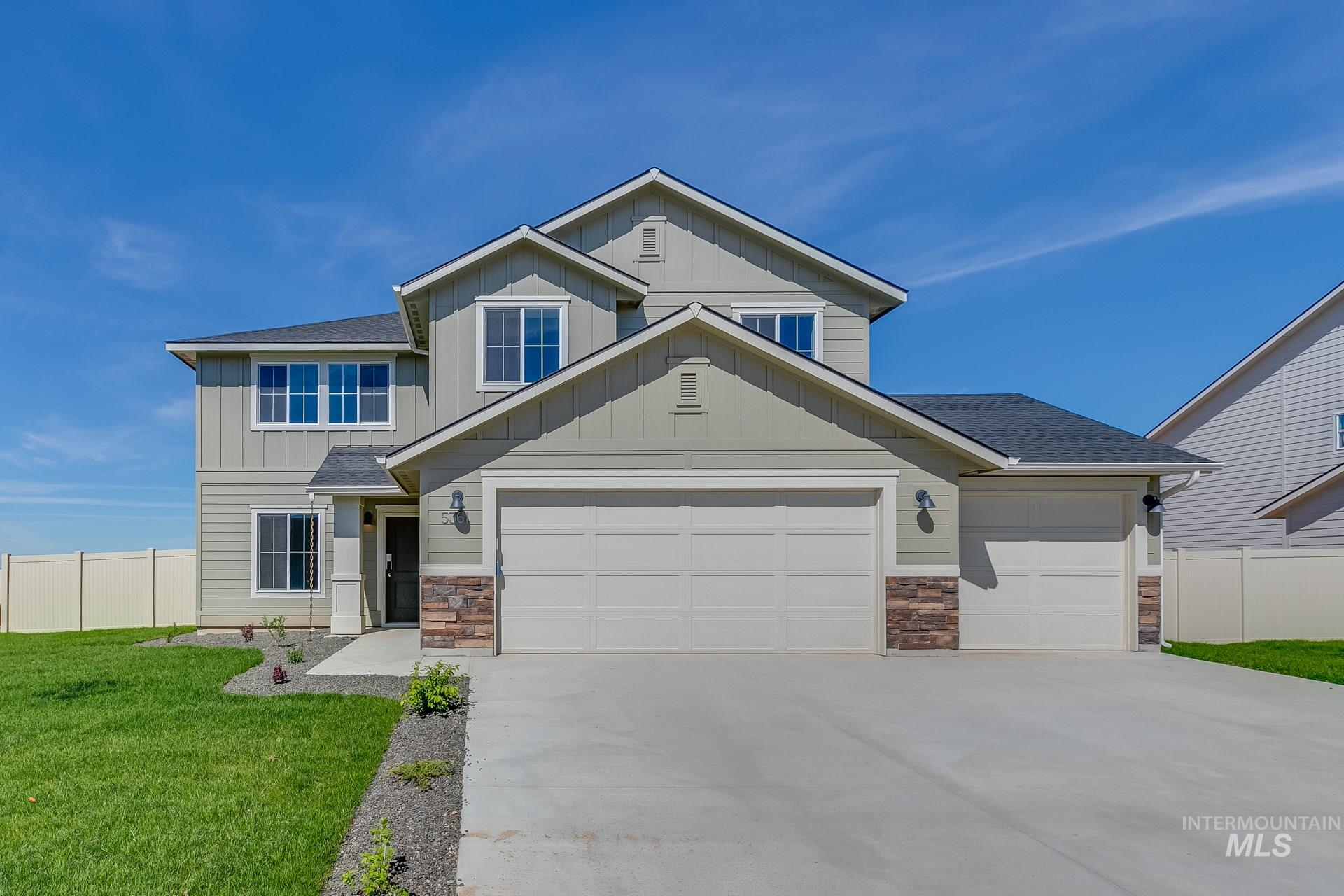 5361 N Willowside Ave, Meridian, Idaho 83646, 4 Bedrooms, 2.5 Bathrooms, Residential For Sale, Price $390,567, 98755056