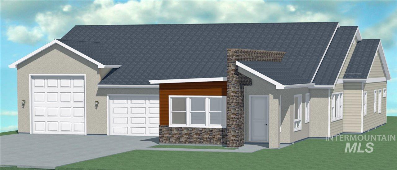 """New Custom Home built by JRW Construction.  Open and bright with a modern flair.  Large open foyer area with tall ceilings flows into the kitchen and dining/great room area.  Kitchen has custom cabinets with soft close doors and drawers, double ovens, and 36"""" gas cooktop.  Great room has large linear fireplace designed for entertaining.  Master suite is tucked away and private complete with walk-in shower and soaker tub.  Huge covered patio with with large backyard.  41' RV garage and 31' deep 2 bay garage."""