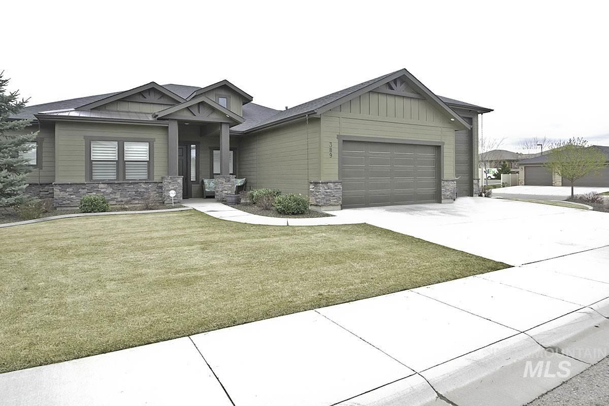 389 E Whiskey Flats Street, Meridian, Idaho 83642, 3 Bedrooms, 3 Bathrooms, Residential For Sale, Price $498,312, 98761950