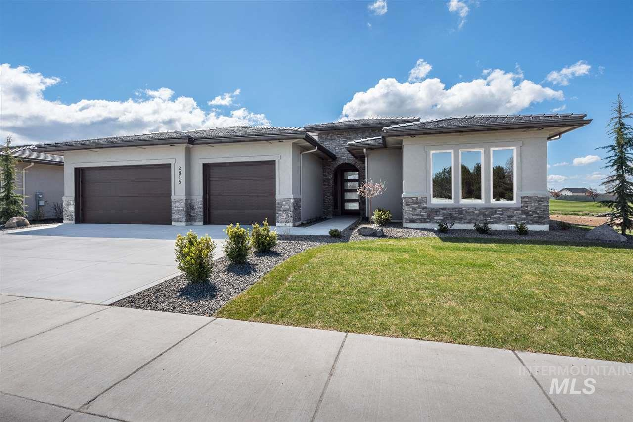 This Cornelio plan has no detail is left out including the golf course views. This gorgeous single level with large covered deck also has a guest room that could be used as an office or bonus room. Kitchen includes top of the line appliances to include Thermador cooktop, refrigerator and double oven. Hardwood flooring, quartz, tile and granite throughout. Master with tile walk-in shower, soaker tub and large closet. HOA dues cover landscaping, sprinkler and snow removal maintenance.