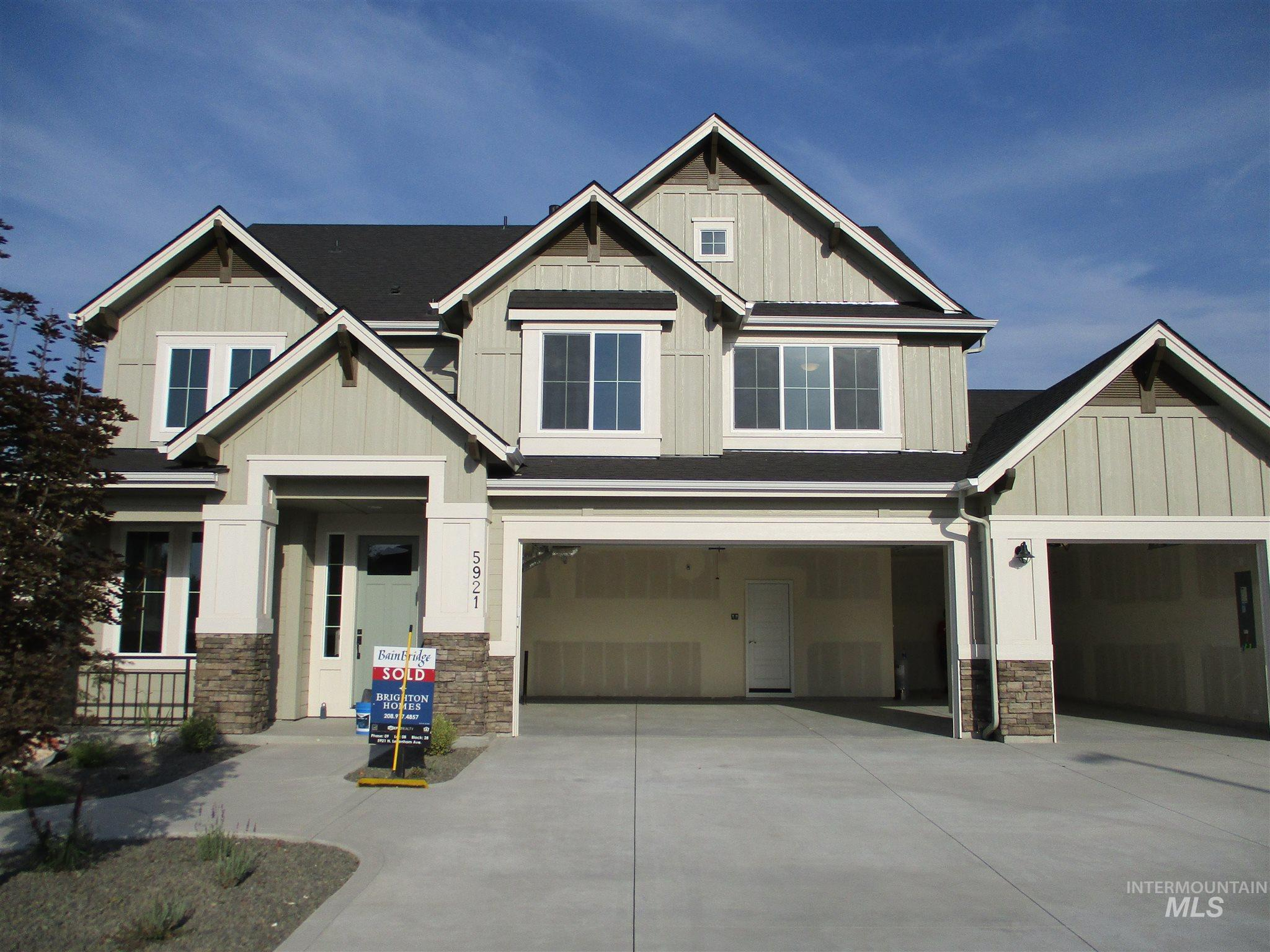 The Bayview by Brighton Homes. A stunning EnergyStar home with a standard HERS rating of 64! This home is perfect for  entertaining with the open and bright layout. With 10ft. ceilings in the family room, and an amazing kitchen with stainless Bosch appliance package, this home is a real winner.