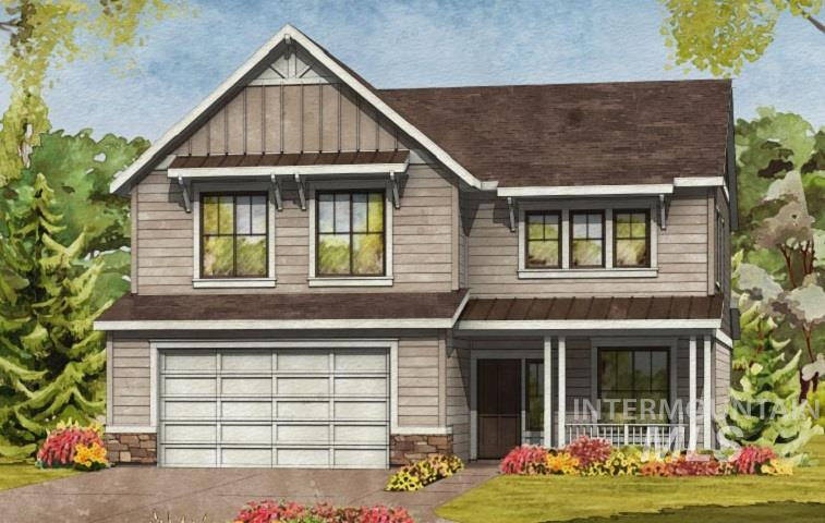 The Marquette by Brighton Homes. A spacious two level home with four bedrooms, a great media room for the family, a homework station, and a den. Choose from four beautiful elevations. You'll love all of the extra storage space in the house and 3 car tandem garage, and loads of natural light! Enjoy Bosch appliances and Kohler throughout, a Brighton standard. Garage orientation on the right.