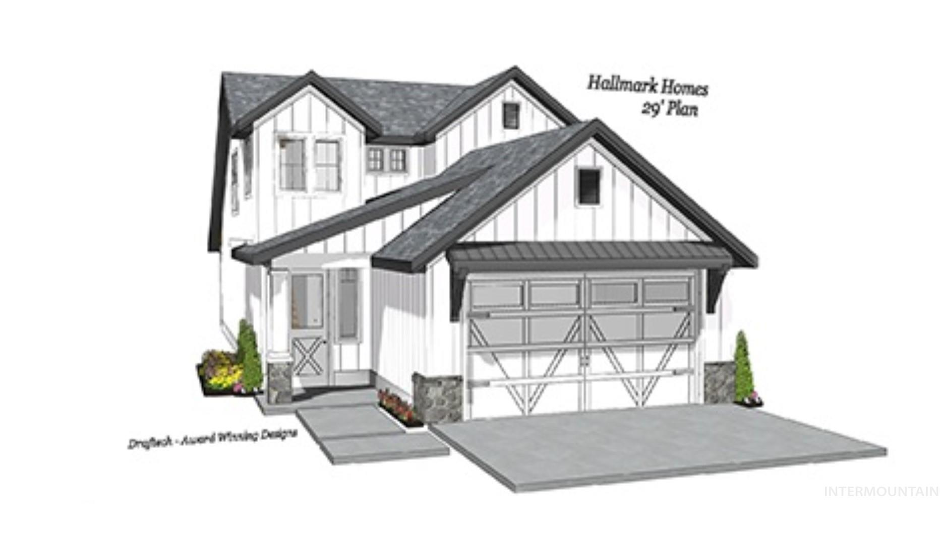 The all new Ponderosa Plan by Hallmark Homes, now available in Bainbridge. High quality construction with the standards you expect with hallmark Homes.  Main floor master suite, wonderful bonus room, open and bright kitchen.  All on a perfect east backyard lot.  Close to shopping, restaurants, etc and walk to wonderful neighborhood pools and parks.