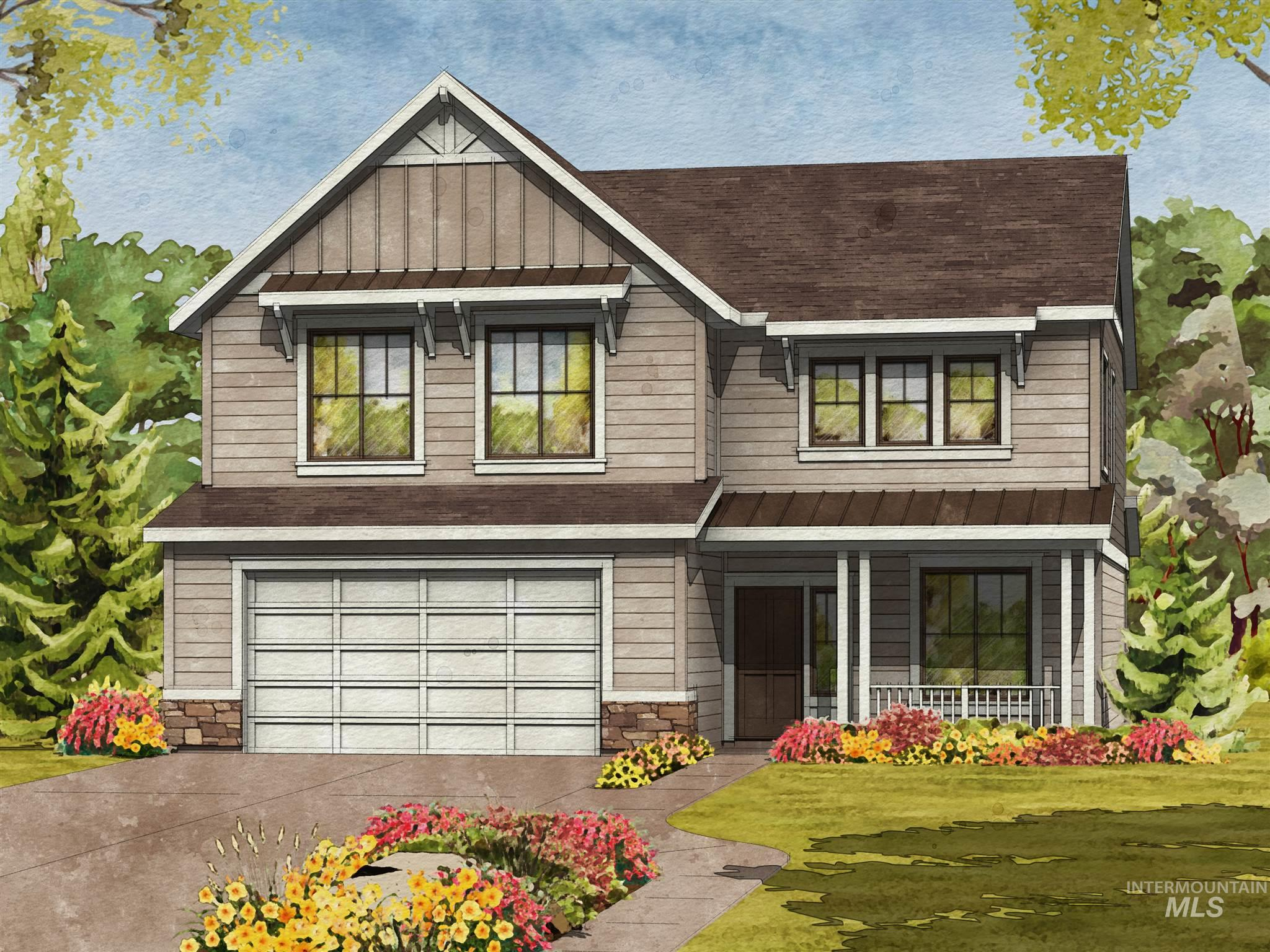 The Marquette by Brighton Homes. A spacious two level home with four bedrooms, a great media room and a den. Choose  You'll love all of the extra storage space in the house and garage, and loads of natural light! Enjoy Bosch appliances and Kohler throughout, a Brighton standard.