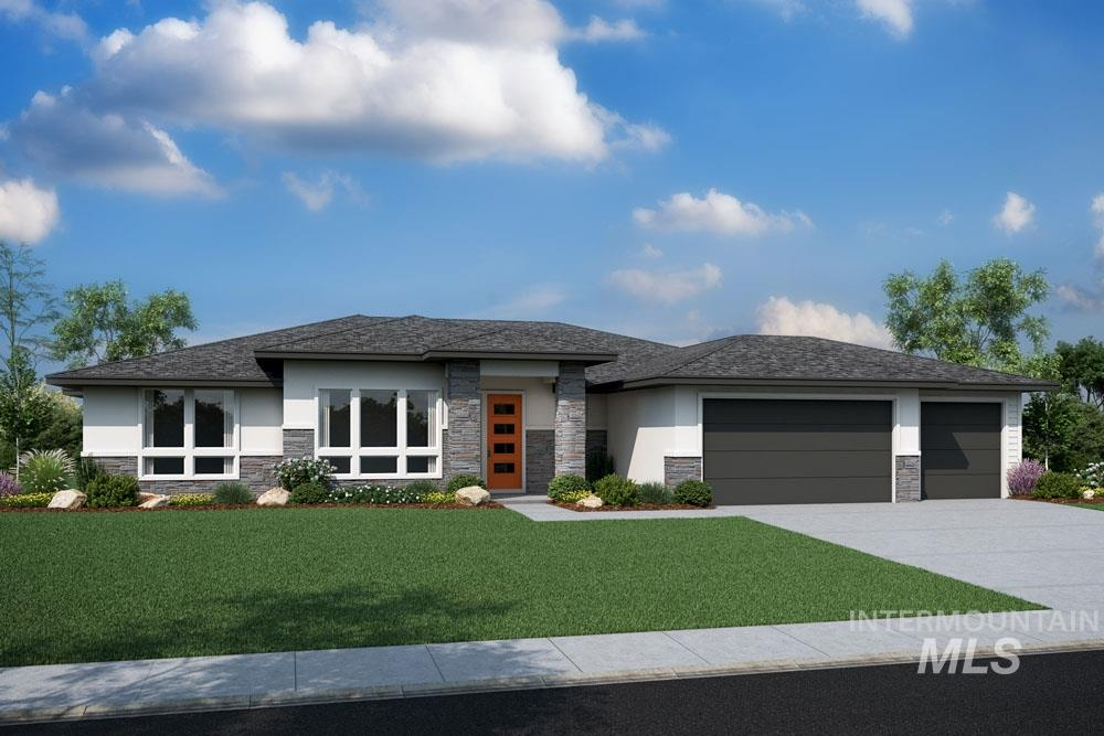 Spec Home - Davenport  Modern Prairie exterior. Home is under construction. *** PHOTO SIMILAR***