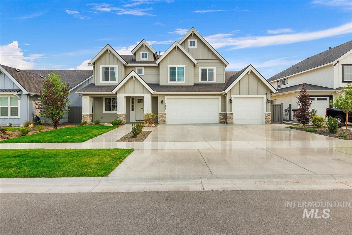 Don't miss out on this Century Farms dream! This beautiful home has 4 spacious bedrooms, a large bonus room, office w/closet and expanded pantry! This home has a gorgeous kitchen boasting a large island and s/s Bosch appliances. The kitchen is open to a large dining area and great room, making entertaining fun and easy! The bonus rm (& ofc) each have closets and could be used as addt'l bedrooms. This home has a large, fenced yard and is a block away from the community park and pool. This won't last long!