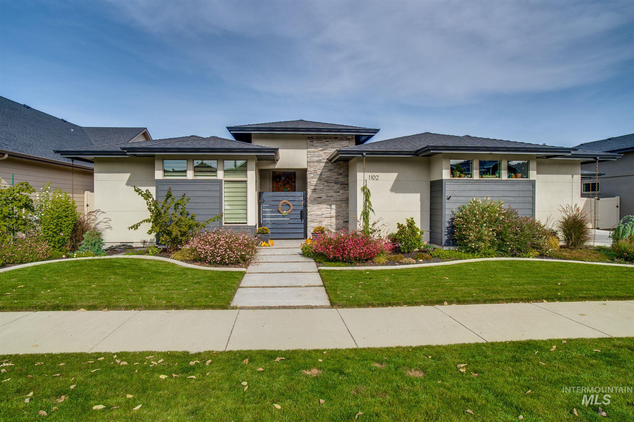 1102 E Radiant Ridge Dr., Meridian, Idaho 83642, 4 Bedrooms, 2.5 Bathrooms, Residential For Sale, Price $625,000, 98784521