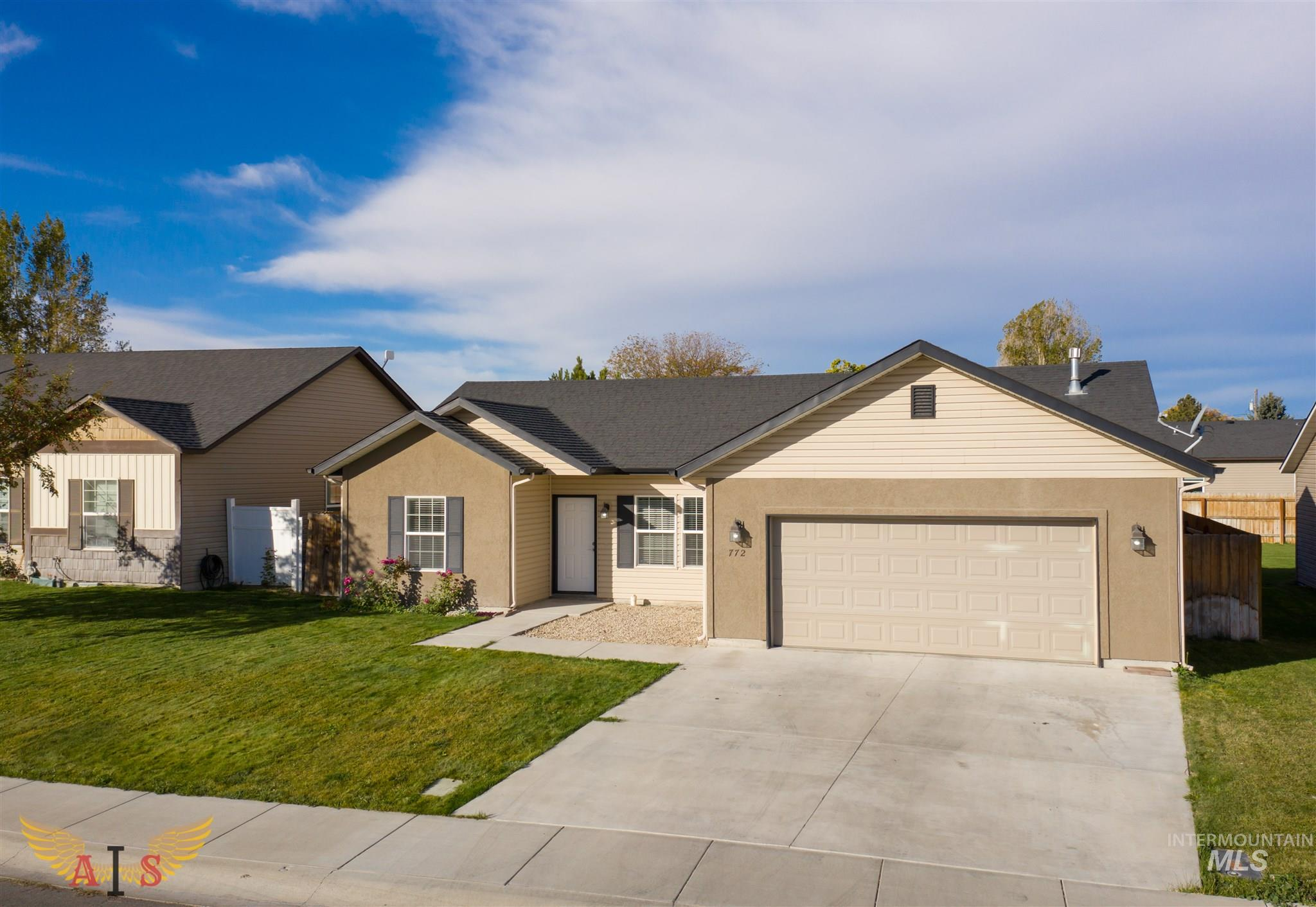 772 Birchwood Rd., Twin Falls, Idaho 83301, 3 Bedrooms, 2 Bathrooms, Residential For Sale, Price $217,900, 98784665