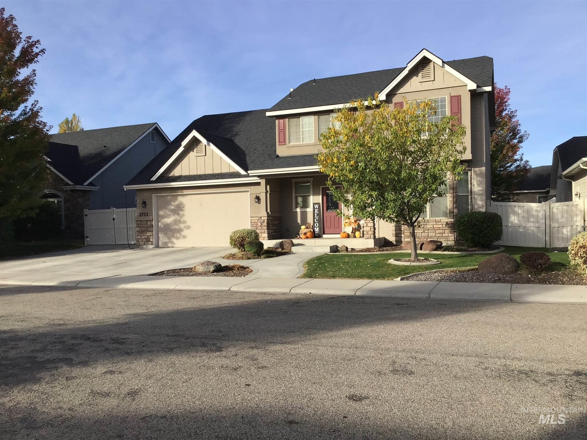 2773 S Knapp, Meridian, Idaho 83642, 4 Bedrooms, 2.5 Bathrooms, Residential For Sale, Price $489,900, 98784769