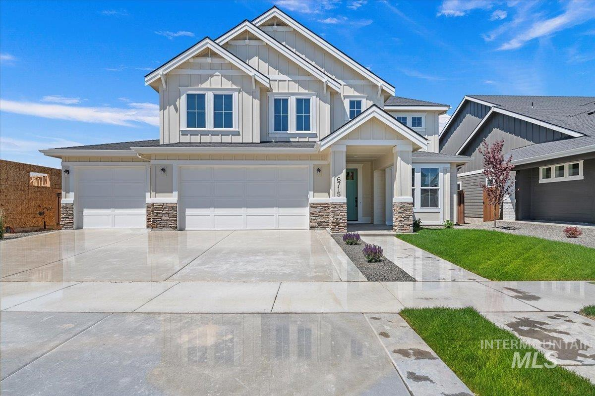 6715 N Maplestone Ave, Meridian, Idaho 83646, 5 Bedrooms, 3.5 Bathrooms, Residential For Sale, Price $649,900, 98785113