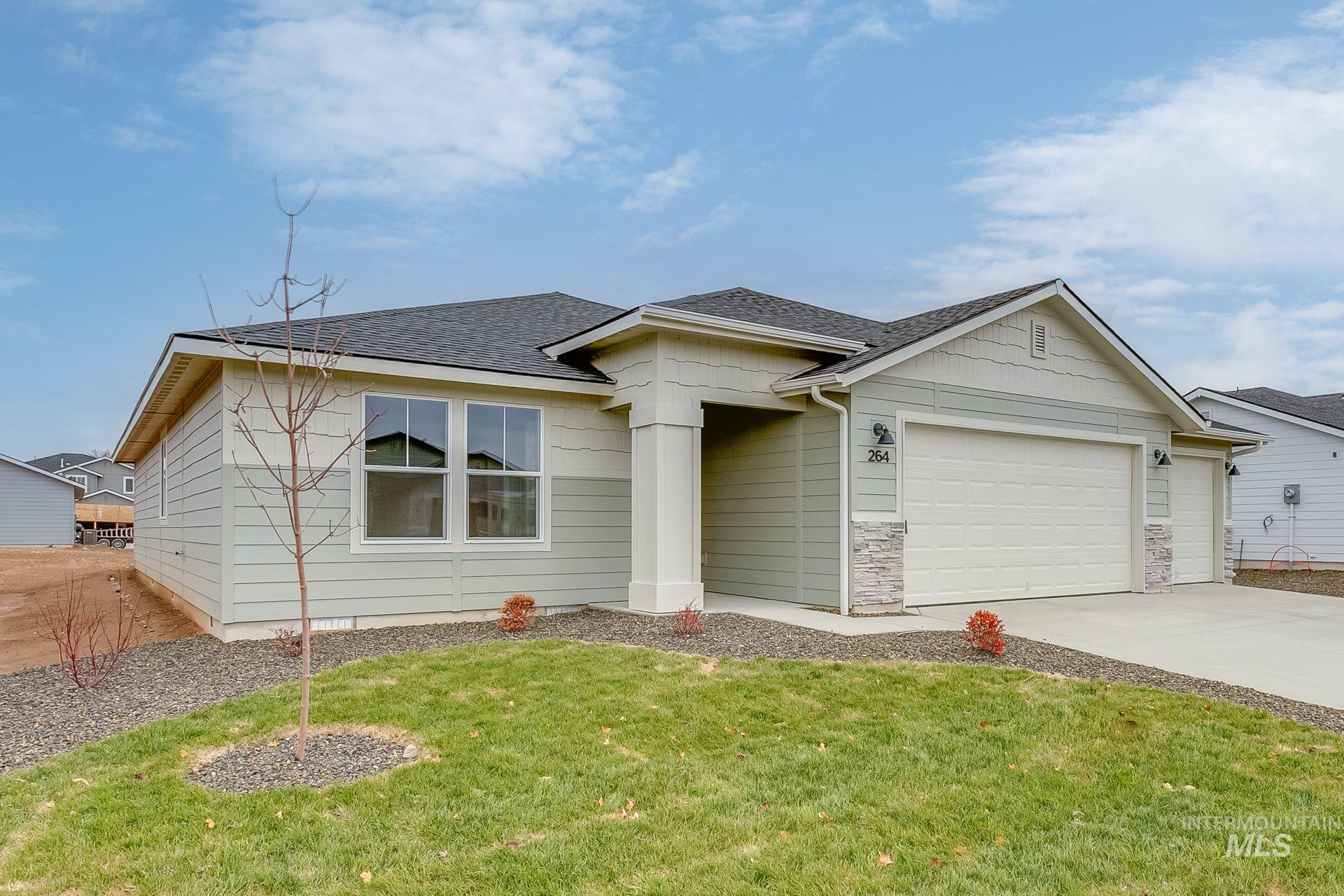 11309 W Viola St., Nampa, Idaho 83651, 3 Bedrooms, 2 Bathrooms, Residential For Sale, Price $419,344, 98787501