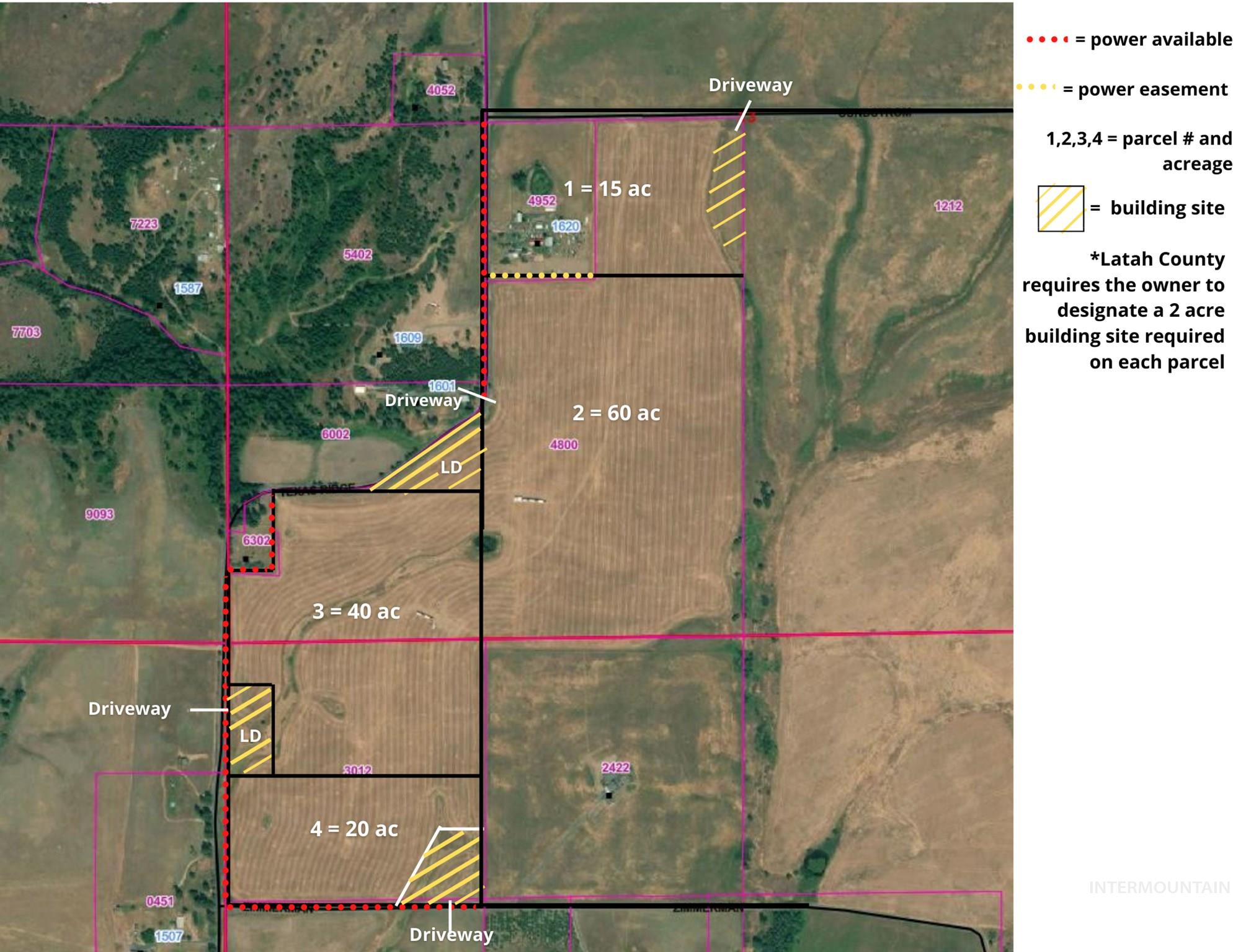 TBD Texas Ridge (Parcel 3), Deary, Idaho 83823, Land For Sale, Price $167,000, 98787620