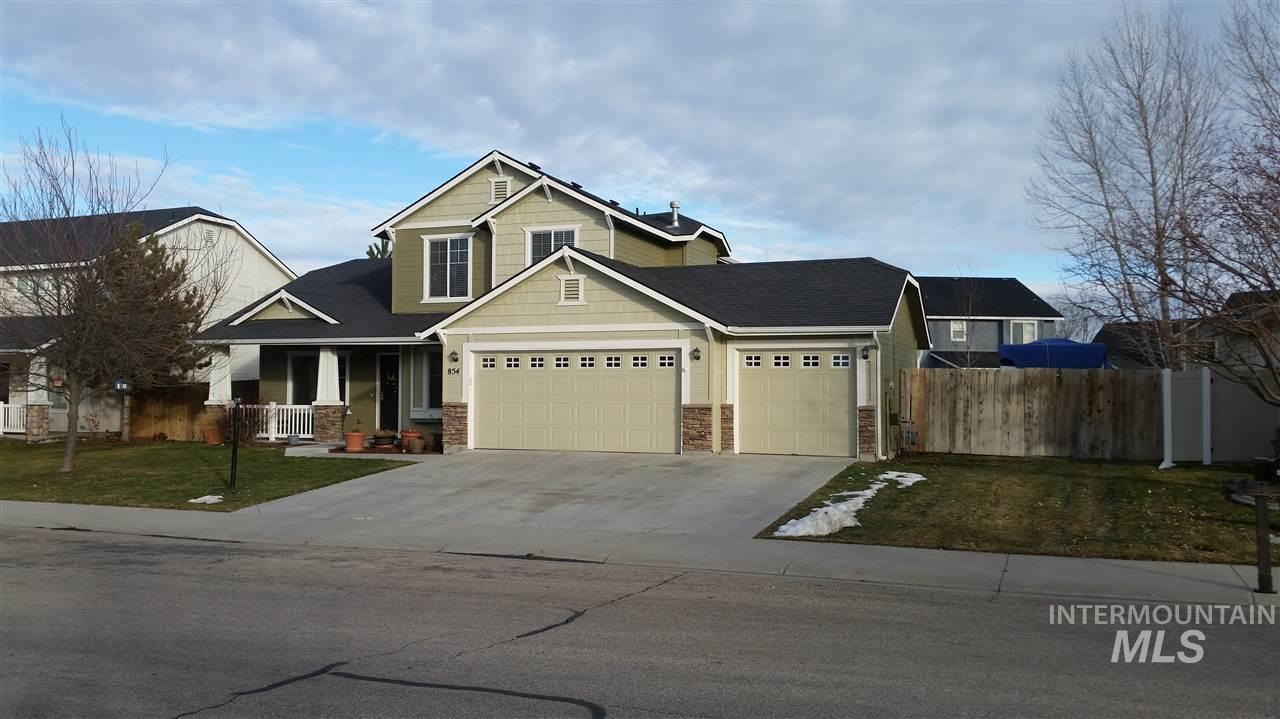 854 N Biltmore Ave, Meridian, Idaho 83642, 4 Bedrooms, 2.5 Bathrooms, Rental For Rent, Price $1,975, 98790734