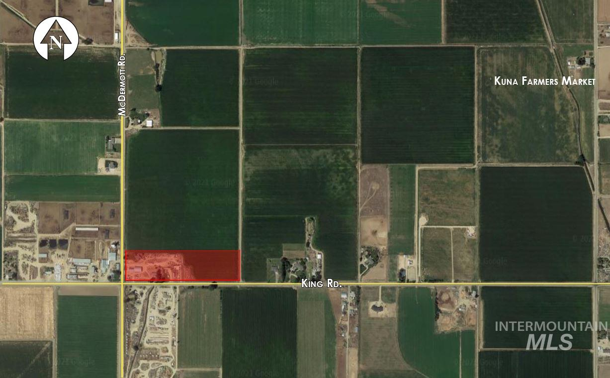 Sale of the 10 acre parcel and the 30 acre parcel is subject to administrative splits and water right of way for downstream users. Farmed and irrigated land. Includes 2 houses, outbuildings, and a shop with roll up doors. Additionally, there is a separate office on site. Taxes should be lowered once the land is divided off of the original parcel. DO NOT DISTURB TENANTS.BTVAI - Norman Brown, Voice: 208-866-2450, Mark Bottles Real Estate Serv., Main: 208-377-5700,