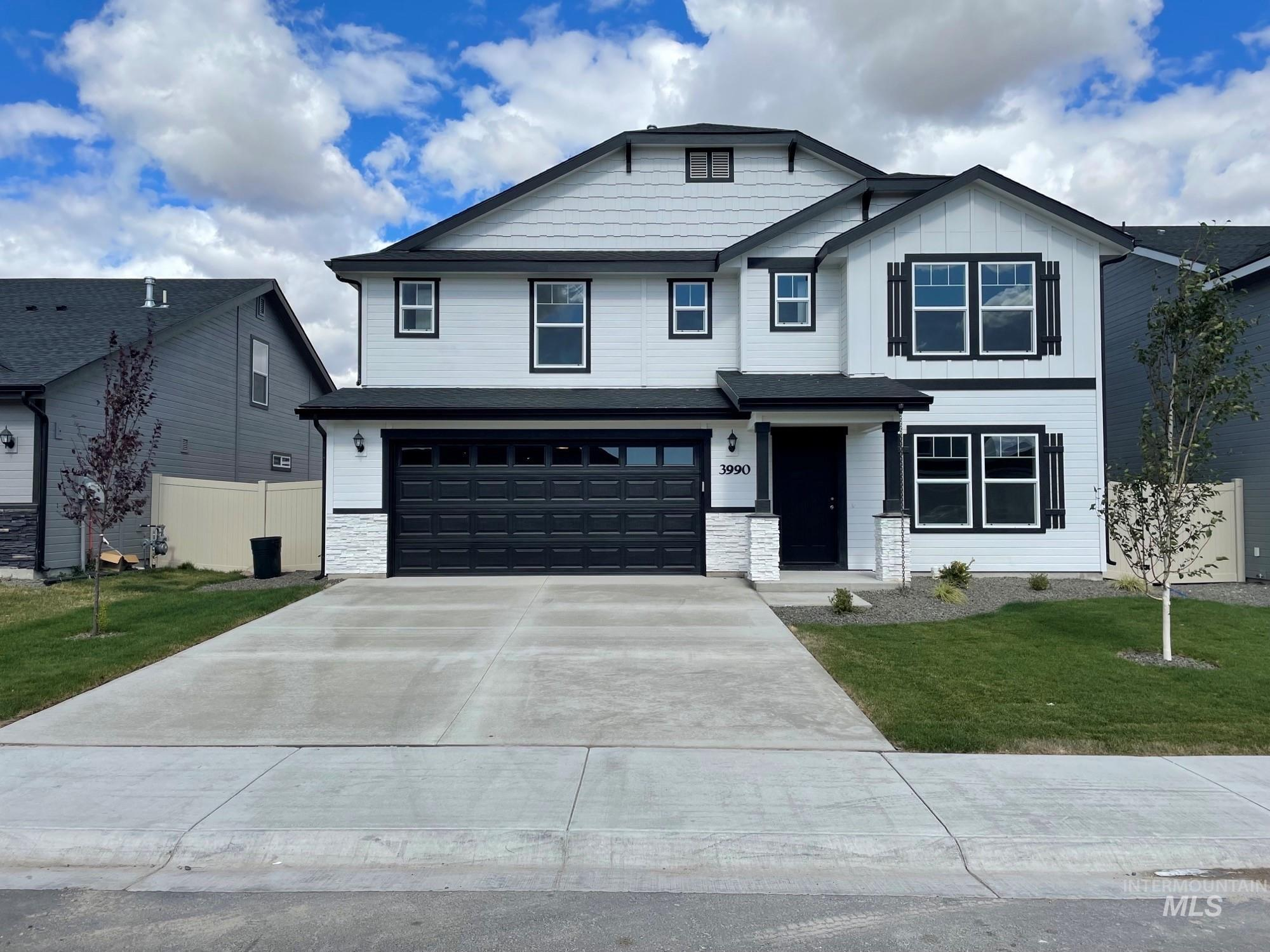 Pre-sold Spruce with Heritage Elevation. Photo Similar. This home features Stainless steel appliances, gas fireplace, upgraded cabinets, sheetrock wrapped windows, insulated garage, gas range, and more!