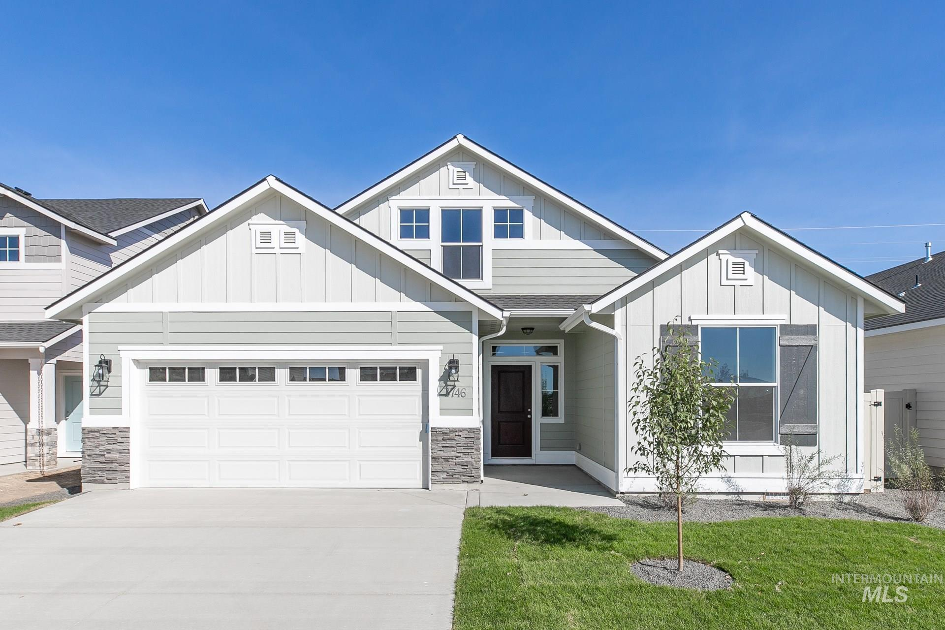 Get $25k with our Buy Now, Get More Promo NOW thru 7/31. Want to tour this home NOW? Get on-demand access with TOUR NOW. The Capri Bonus 1848 is loaded with personality where the great room style kitchen & living room take center stage, plenty of space, windows, light, & an eat in nook. Price includes dual vanities, upgraded cabinets, evp flooring, partial fencing, quartz kitchen countertops, stainless appliances, no backyard neighbors, partial fencing, and more features. Photos are Similar. RCE-923