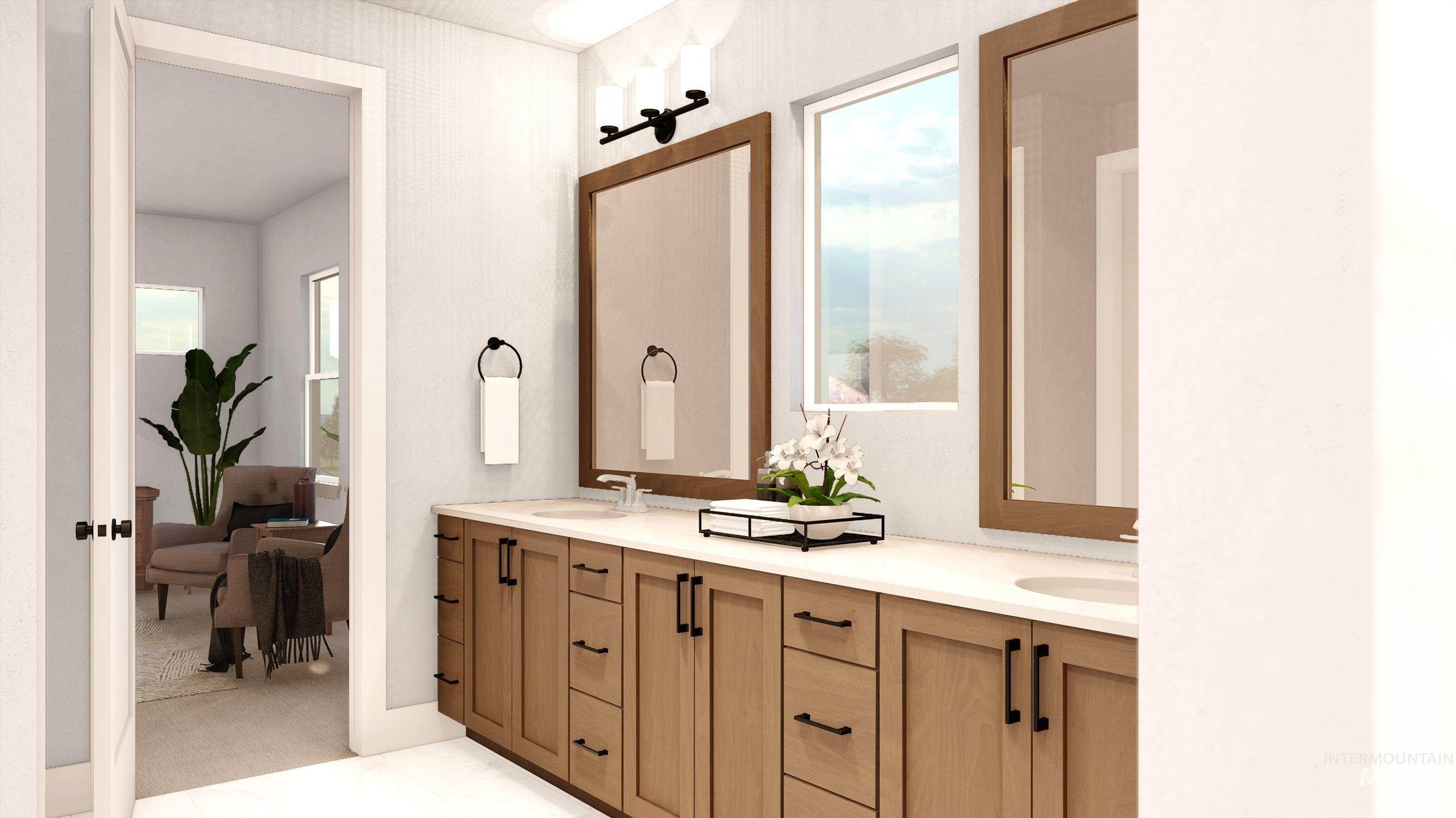 NEW BUILD - The Cascade's street-appeal will draw you right in. This roomy floorplan comes in at 2,644 SqFt with 3 bedrooms, 2.5 bathrooms, and our standard 3-car garage. A beautiful entry, with an opening to the floor above creates a dramatic effect, and will lead you into the home's great room, featuring an open concept plan and access to the covered patio. Head upstairs to the secluded master bedroom, while  two bedrooms are nicely secluded on their own hallway, with direct access to the laundry.