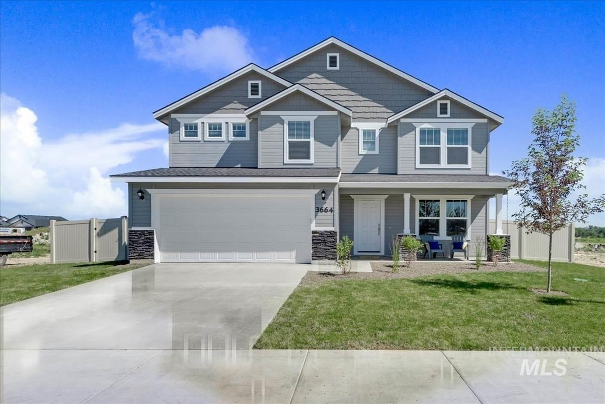 Presold Jasper with Country elevation. This home features upgraded cabinets, deluxe kitchen with built-in double oven, dual vanity, lvp, man door, soaker tub with separate tiled shower, full sprinklers, and much more! Photo similar.