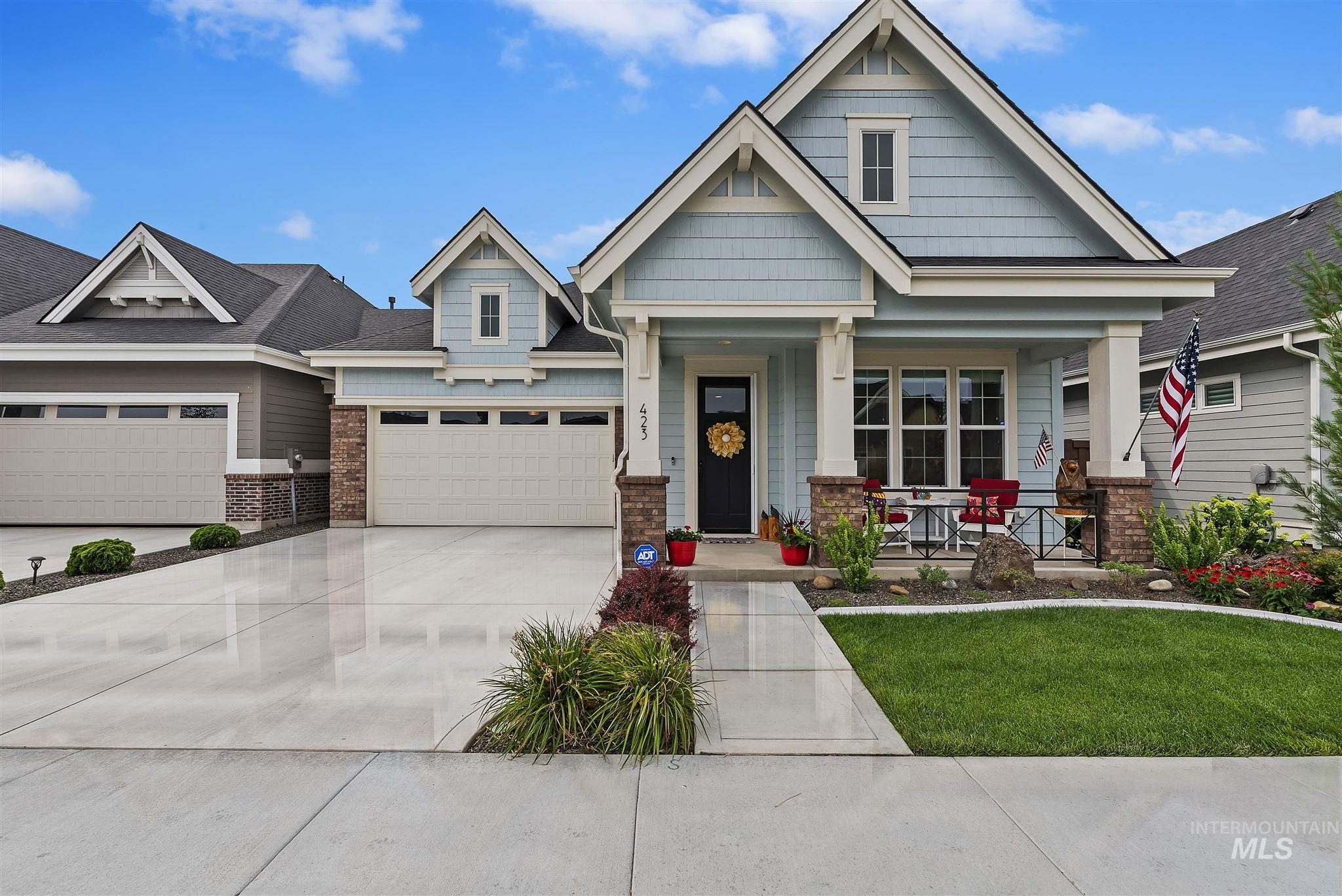 This stunning Dublin Bay Brighton home has all the bells and whistles. A classy, cozy place to call home that's better than brand new featuring window coverings through out, all Bosch appliances, extended patio cover and more. The landscaping both front and back is maintained by the neighborhood. Home is HERS, Energy Star rated saving up to 30% compared to other homes.  There is plenty of space to make the den an office, a cozy get away or the perfect craft room. Pre listing inspection has been completed.