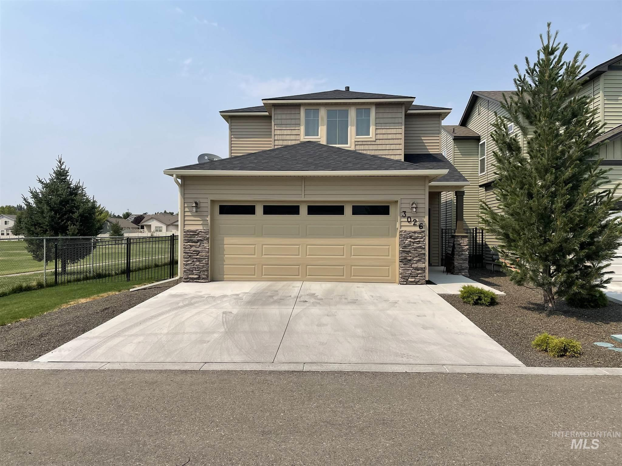 Welcome home! This beautiful like new home offers open floor plan, with no neighbors to the north or west. Sit back and relax under your gazebo, and enjoy your no maintenance fully fenced backyard. Lawn, landscaping, and sprinklers, are maintained by HOA. All counter-tops are granite. Awesome walk-in pantry. Upstairs has a large master suite w/dual vanity and walk-in closet + built-in desk in the loft, come check out this awesome house it won't last long!