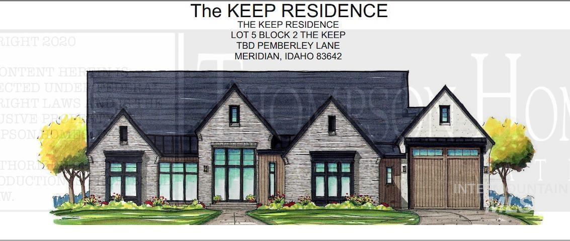 Luxury and functionality blend seamlessly in this latest masterpiece by Thompson Homes.  This sprawling single-level home features 4 bedrooms, all with en-suite bathrooms, as well as a separate office and large game/theater room with direct access to the fully covered outdoor entertainment area.  Bring the outside in with multiple large glass sliding doors.  The master suite features a closet larger than most bedrooms, direct access to the laundry, and dual entry shower.  Includes RV Bay on a .5 acre lot! - Lane Ranstrom, Voice: 208-869-9885, Fathom Realty, Main: 208-576-4717,
