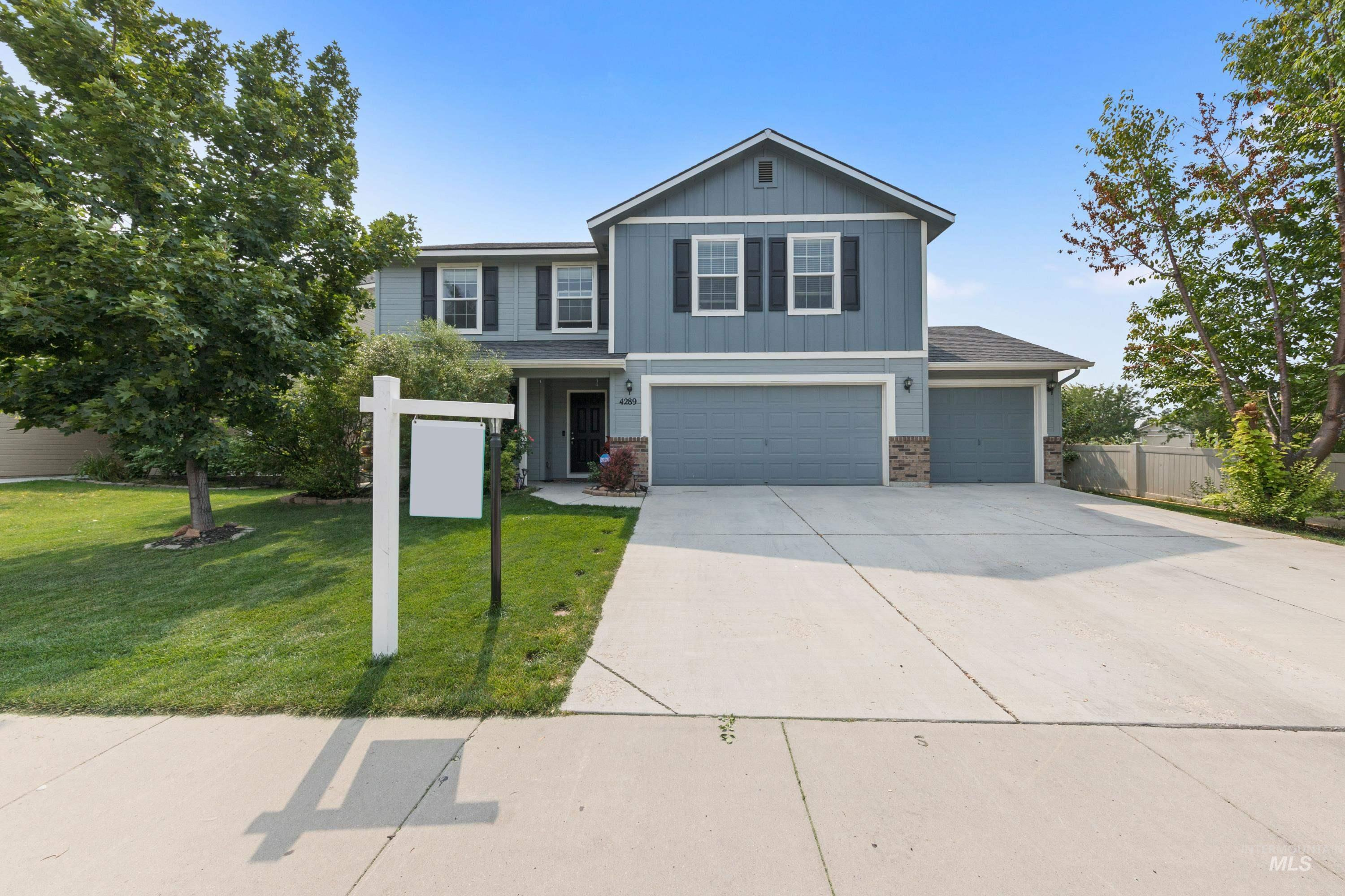 Nice home in convenient location. This home features a downstairs bedroom with large dining and living room. Kitchen with island. Large upstairs master has plenty of room with private master bath and walk-in closet. Nice extra bonus area upstairs. Large, fenced yard with mature trees and a 3 car garage. - Kami K Stock, Voice: 208-409-4829, Homie, Main: 520-940-0583, https://www.kamistock.com