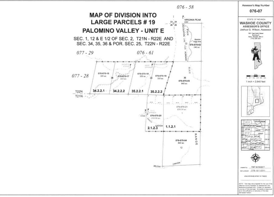 Land for Active at Microwave Road Microwave Road Reno, Nevada 89510 United States