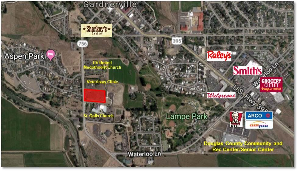 Land for Active at 1349 Centerville 1349 Centerville Gardnerville, Nevada 89410 United States