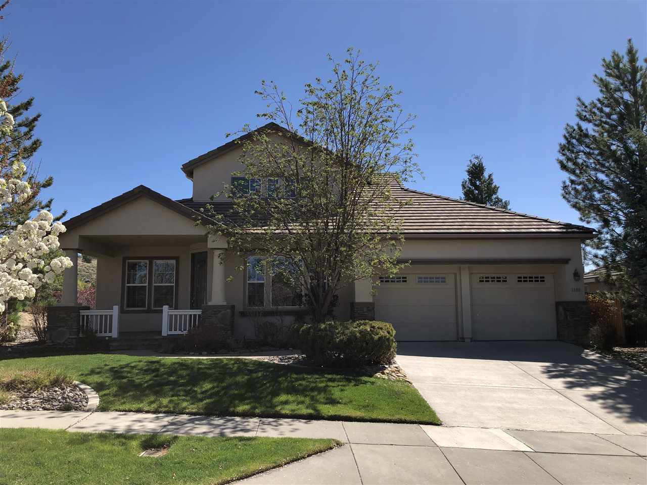 Single Family Home for Active at 1880 Morgan Pointe Circle 1880 Morgan Pointe Circle Reno, Nevada 89523 United States