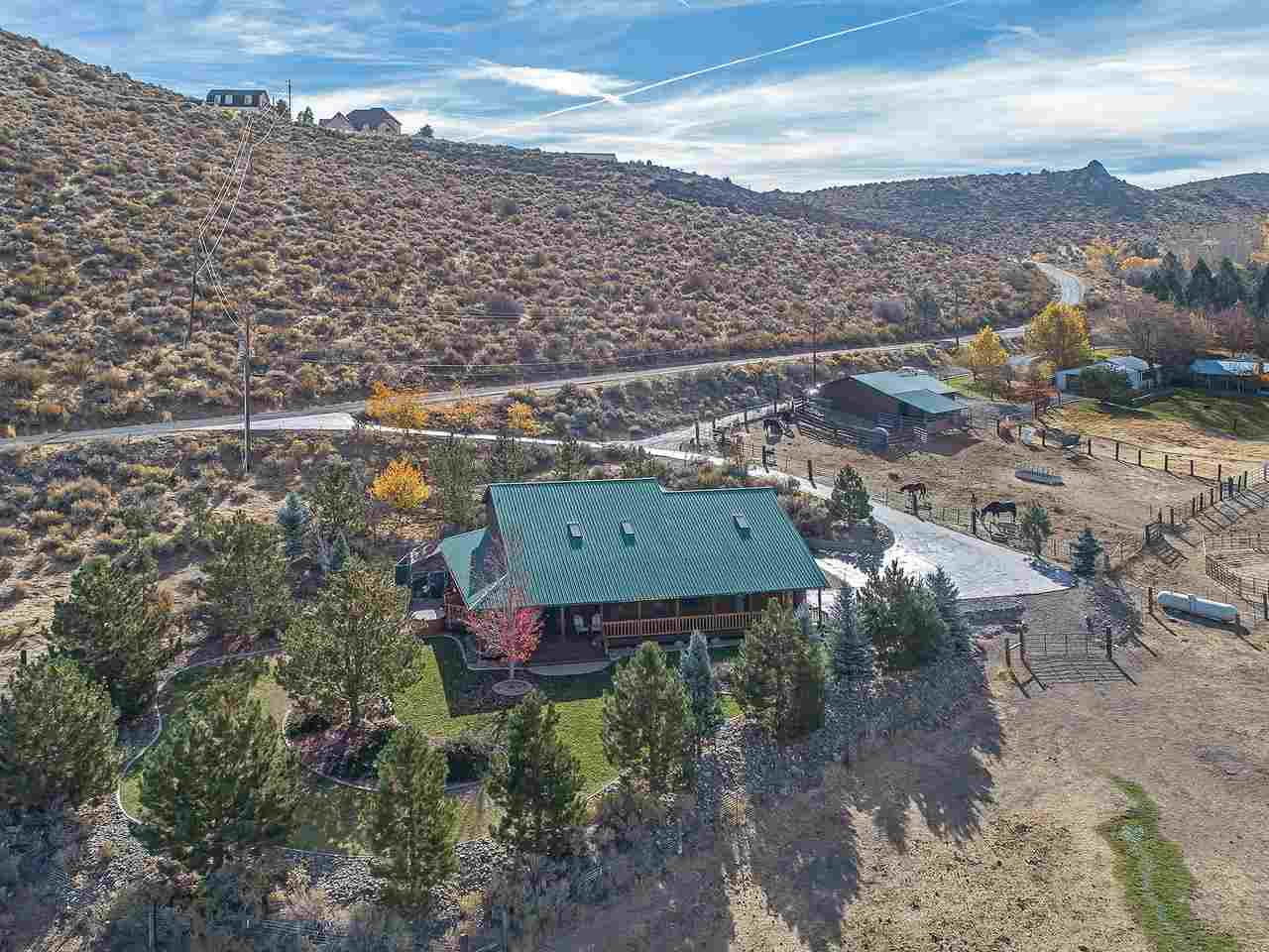 Single Family Home for Active at 290 Duck Hill Road 290 Duck Hill Road Washoe Valley, Nevada 89704 United States