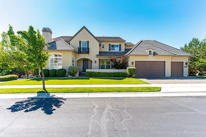 Single Family Homes por un Venta en 2857 Cloudburst Canyon Drive Génova, Nevada 89411 Estados Unidos