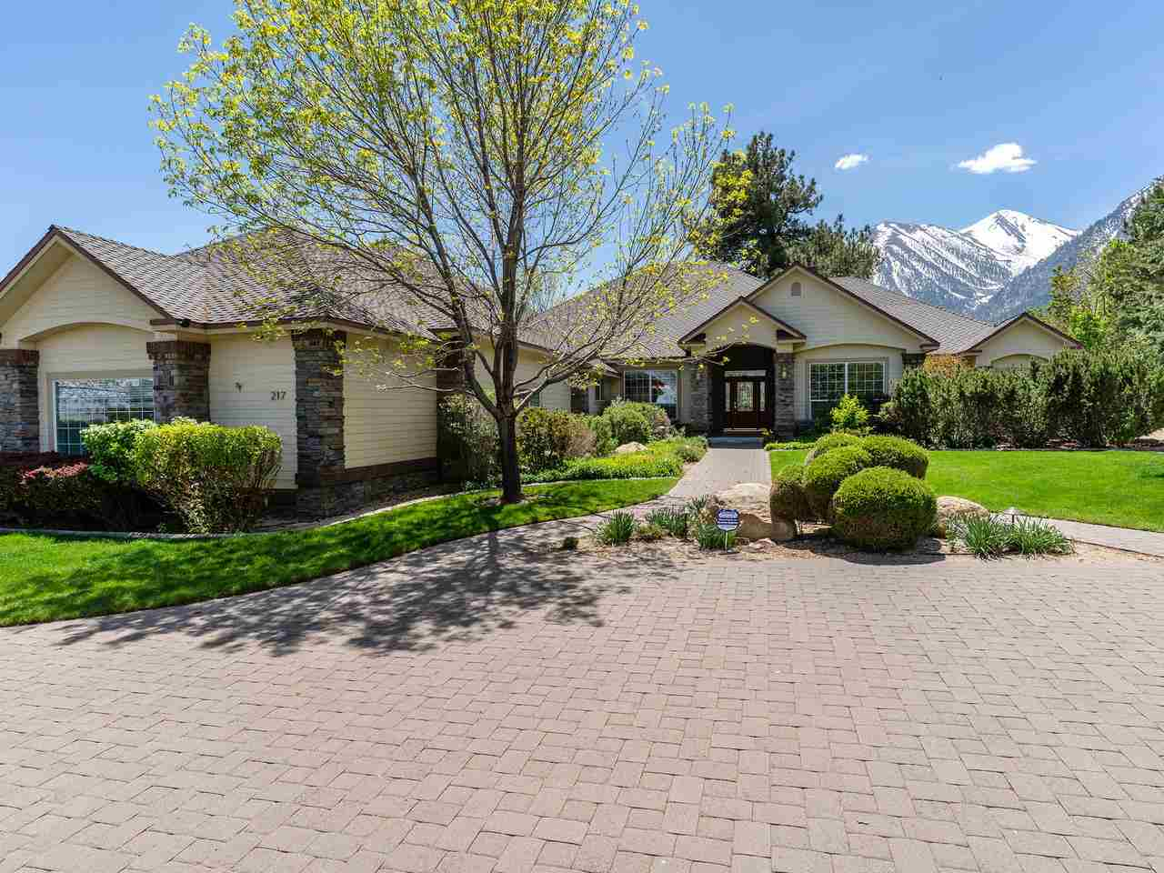 Single Family Homes for Active at 217 Sierra Country Circle Gardnerville, Nevada 89460 United States