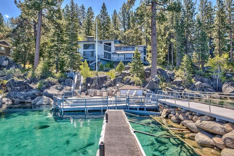 Single Family Homes por un Venta en 1688 HWY 50 Glenbrook, Nevada 89413 Estados Unidos