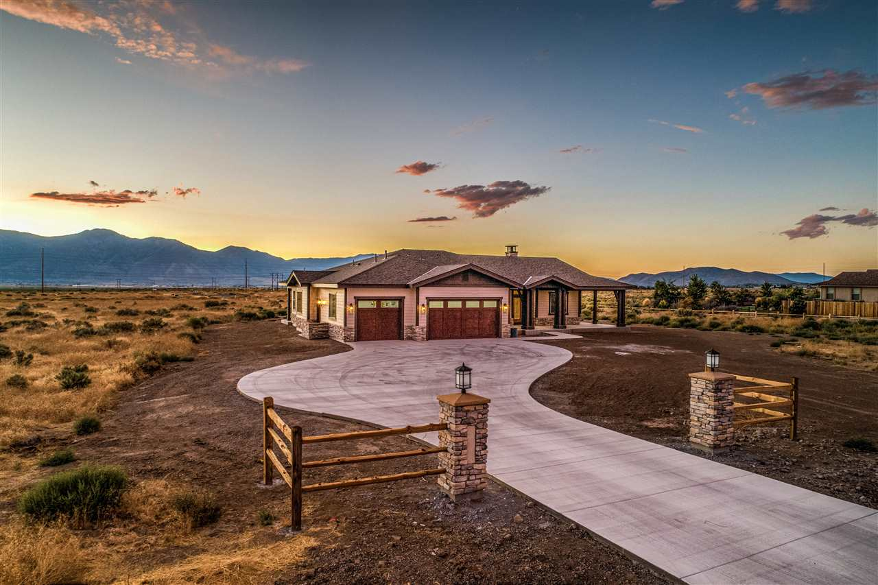 Single Family Homes for Active at 1840 Painted Desert Drive Minden, Nevada 89423 United States