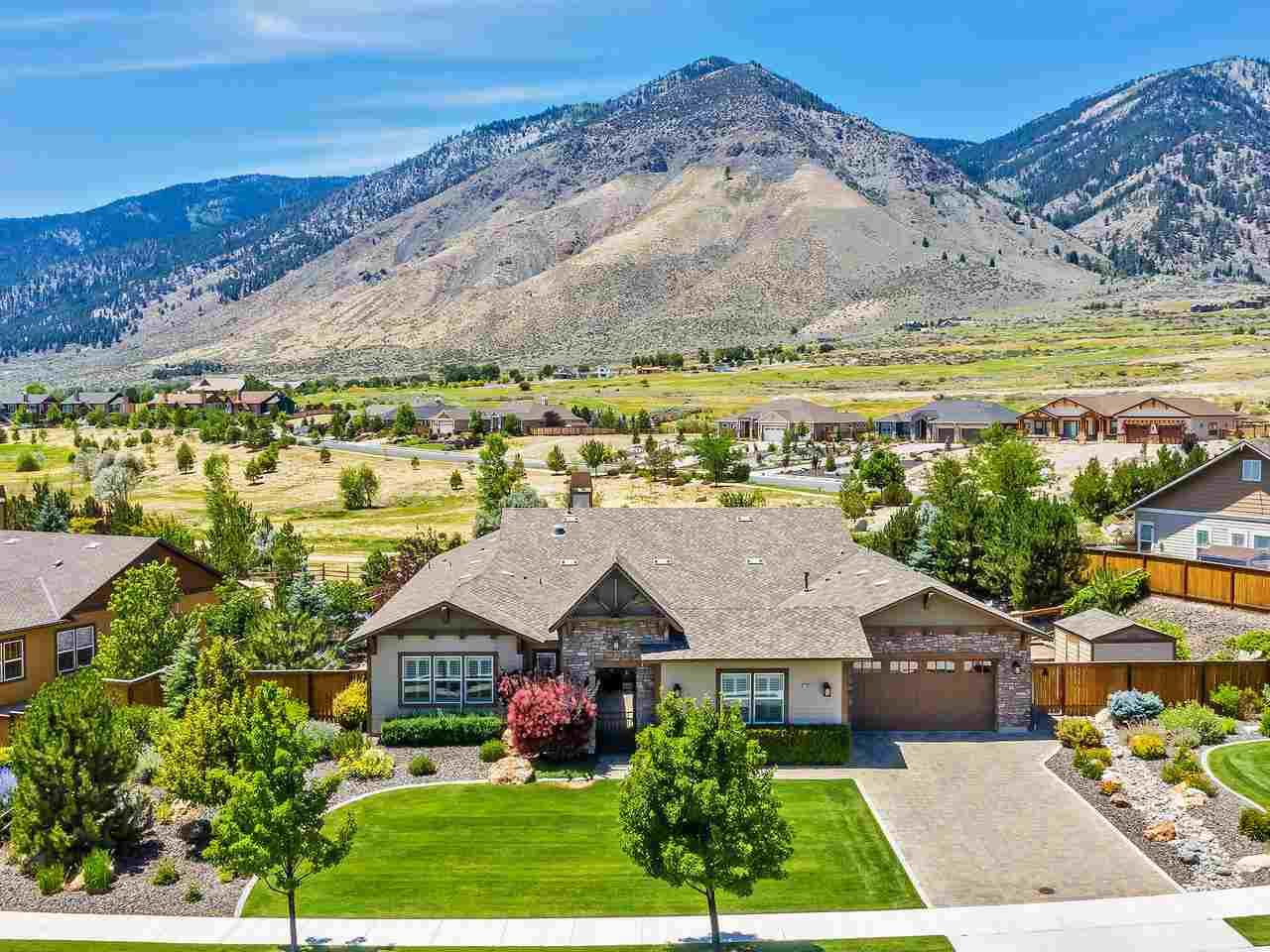 Single Family Homes for Active at 2920 Cloudburst Canyon Drive Genoa, Nevada 89411 United States
